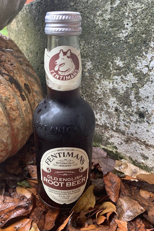 Load image into Gallery viewer, fentimans root beer pop bottle