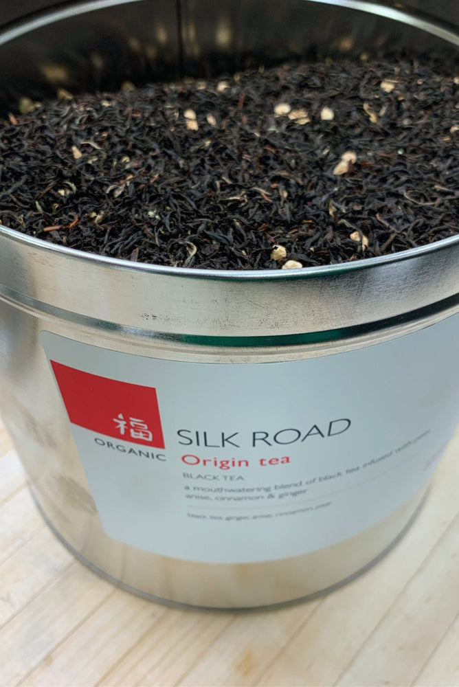 Load image into Gallery viewer, Silk Road black tea, Origin blend