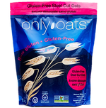 1 kg resealable bag gluten free Only Oats steel cut oats