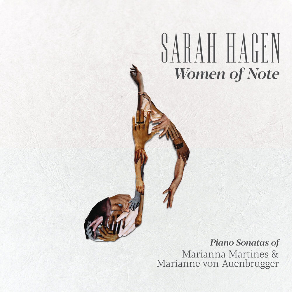 Sarah Hagen piano album Women of Note