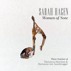 Load image into Gallery viewer, Sarah Hagen piano album Women of Note
