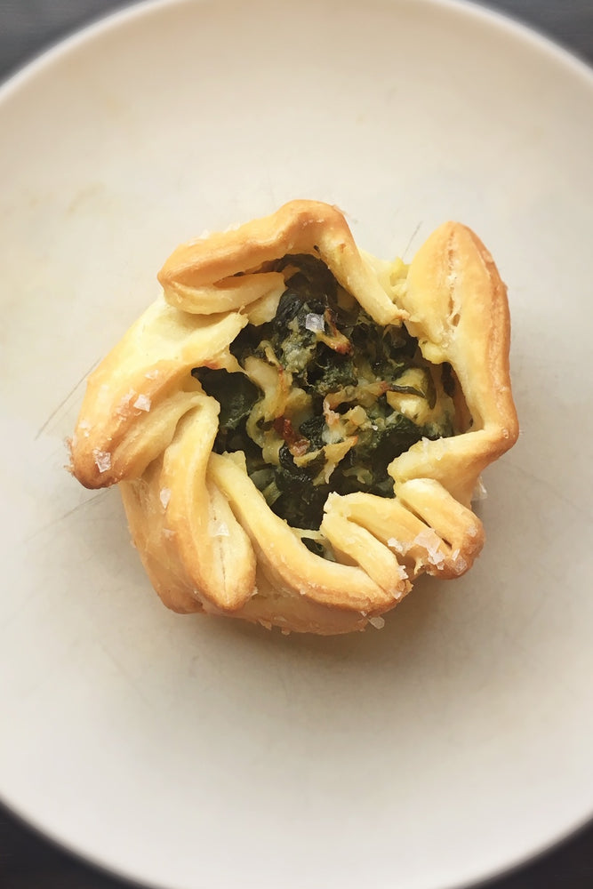 Load image into Gallery viewer, gluten free spinach feta galette