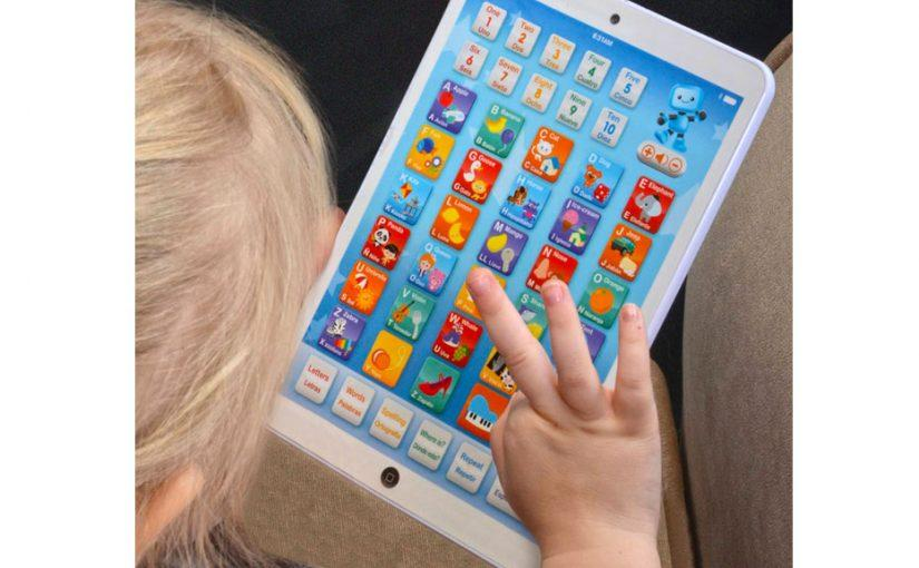 Just Like Mom & Dad: Tablets for Kids