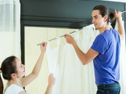 How to Hang Curtains Like a Pro Interior Designer