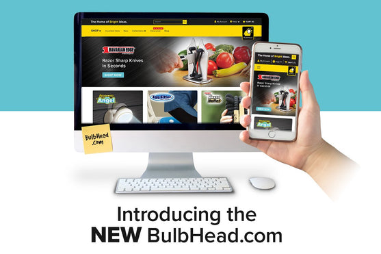 BulbHead.com Just Received A Makeover – See What's New!