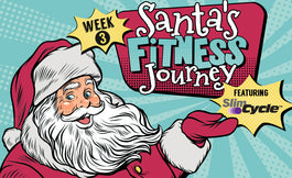 Week 3: Santa's Fitness Journey Featuring Slim Cycle