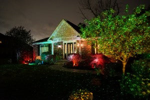 Easily light up your home for Christmas with Star Shower!