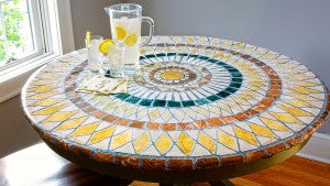 Table Go Round instantly transforms any table! Perfect for your Labor Day BBQ.