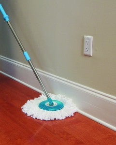Hurricane Spin Mop makes summer cleaning a breeze!