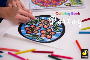 Throw your own adult coloring party to relax and socialize!
