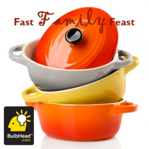 Get a quick and easy chicken dinner recipe from BulbHead!