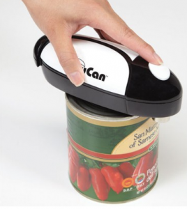 The world's easiest hands-free can opener