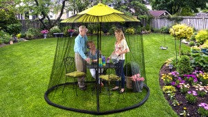Relax outdoors with Bug Out Brella!