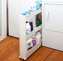 Store and organize your laundry supplies