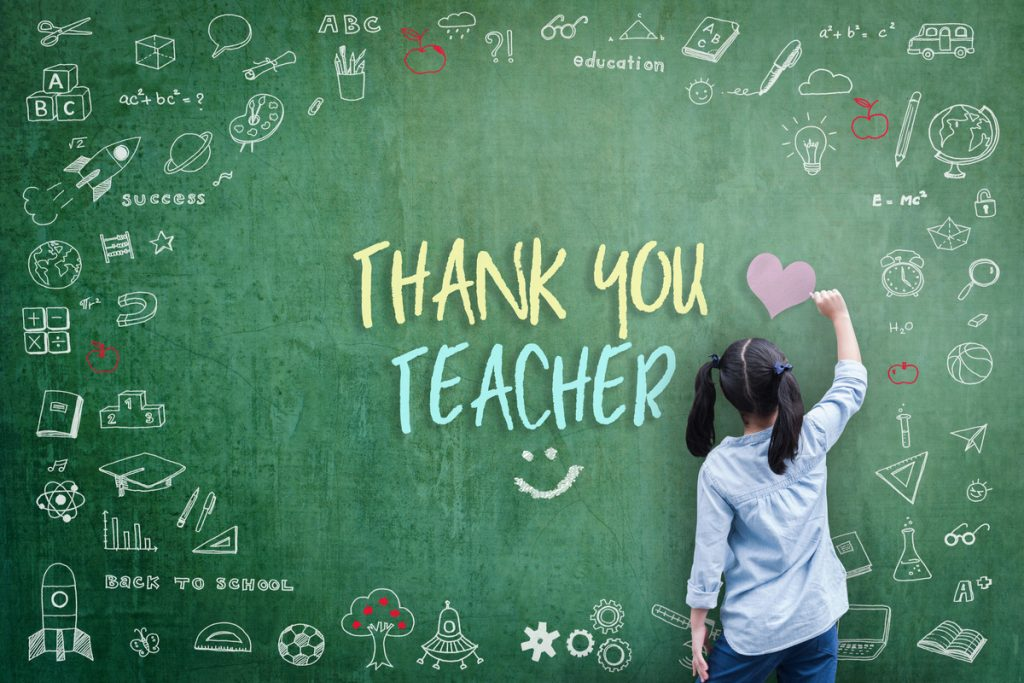 Thank you, Teacher!