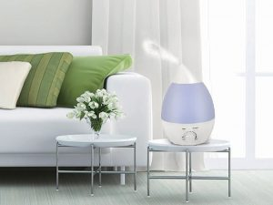 Breathe easy with the LED Humidifier.
