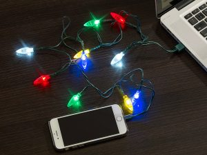 Charger up your iPhone in holiday style