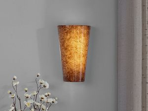 Battery Operated LED Wall Sconce is easy to install and provides beautiful lighting.