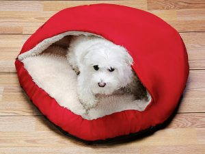 Pet Cave keeps your pup ultra cozy