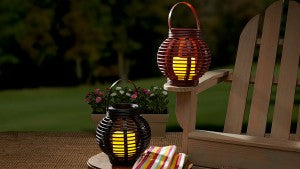 Set the Rattan Basket Candle on your steps or porch for a classic look.
