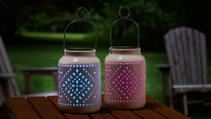 Add these lanterns to any outdoor area and enjoy.
