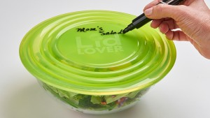 Cover bowls of leftovers with ease