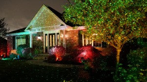 Star Shower quickly and easily lights up your home