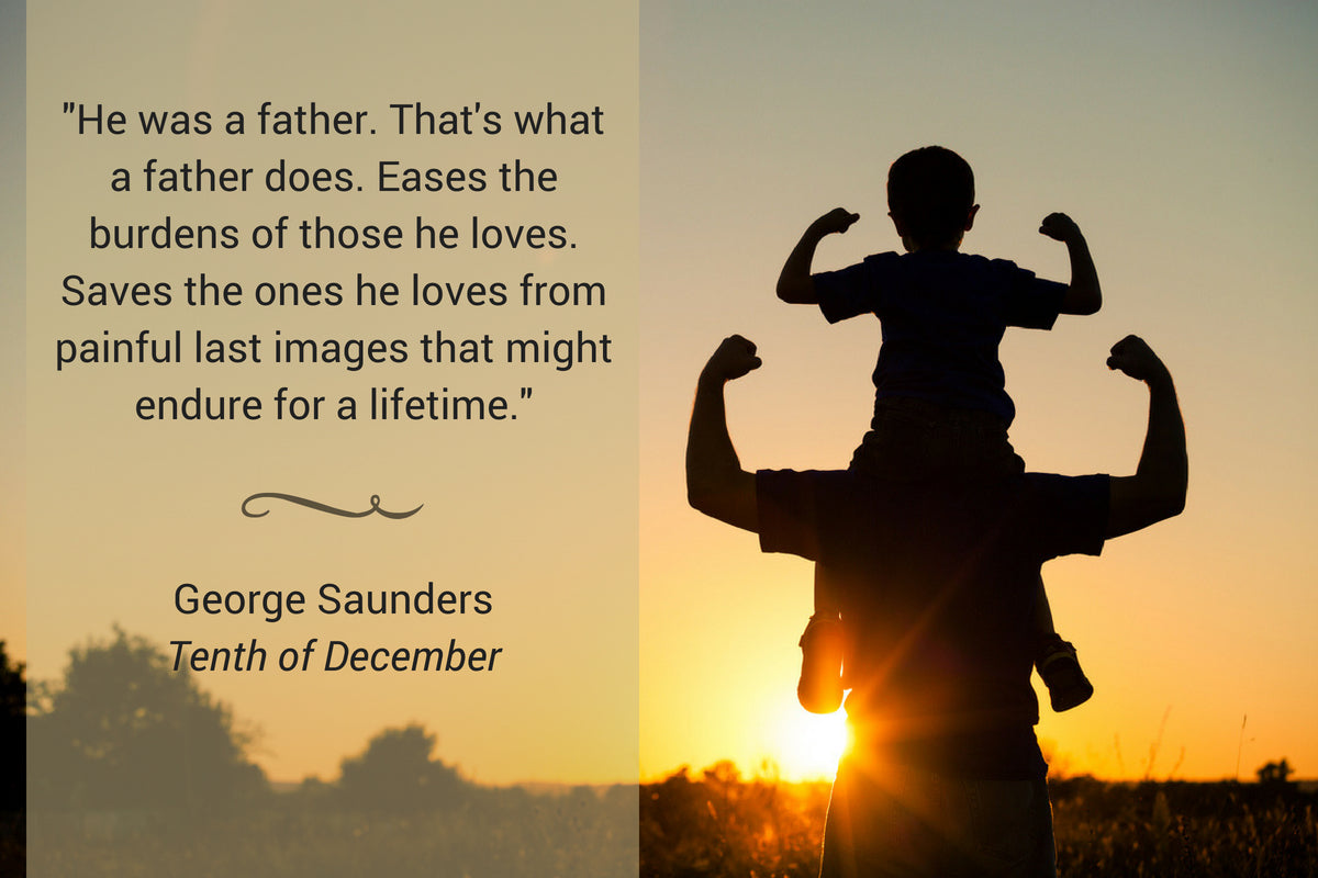 Saunders Father Quote