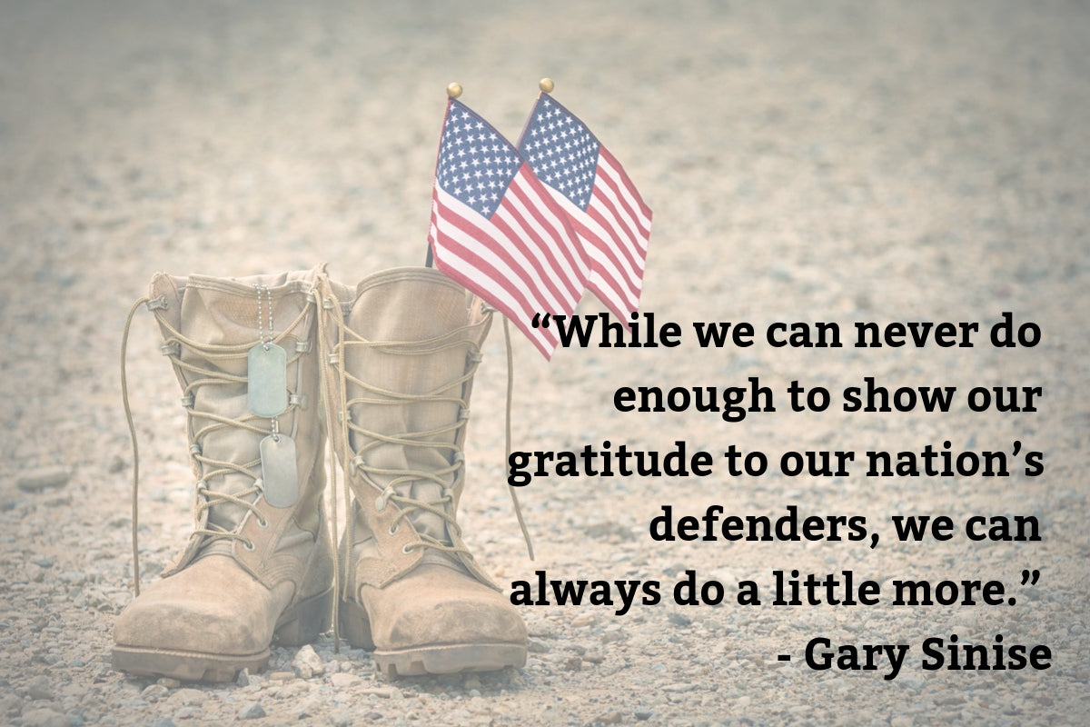 Gary Sinise Quote