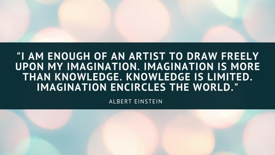 Albert Einstein Imagination Quote