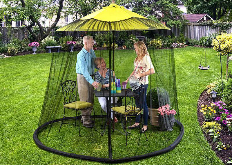 Bug Out Brella Keeps bugs out