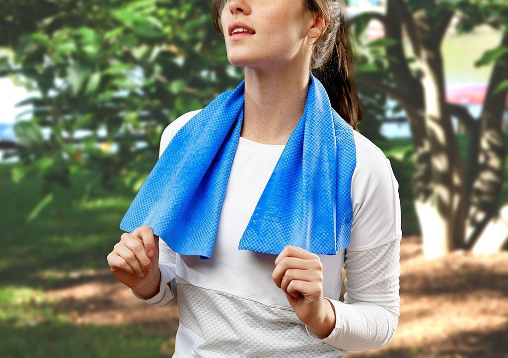Stay cool with this lightweight towel