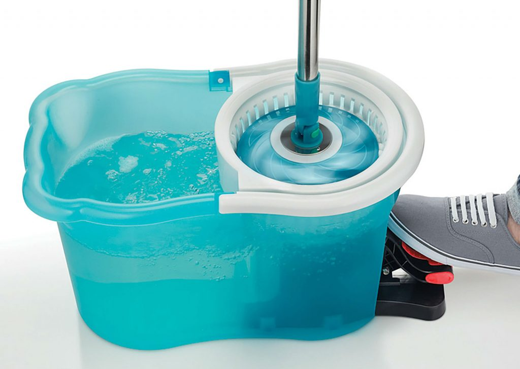 Hurricane Spin Mop for thoroughly clean