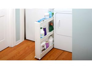 Keep things tidy with the Storage Cart.