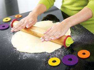 Roll your dough to the perfect thickness