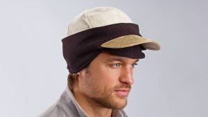 Keep toasty warm with the Baseball Cap Ear Cover.
