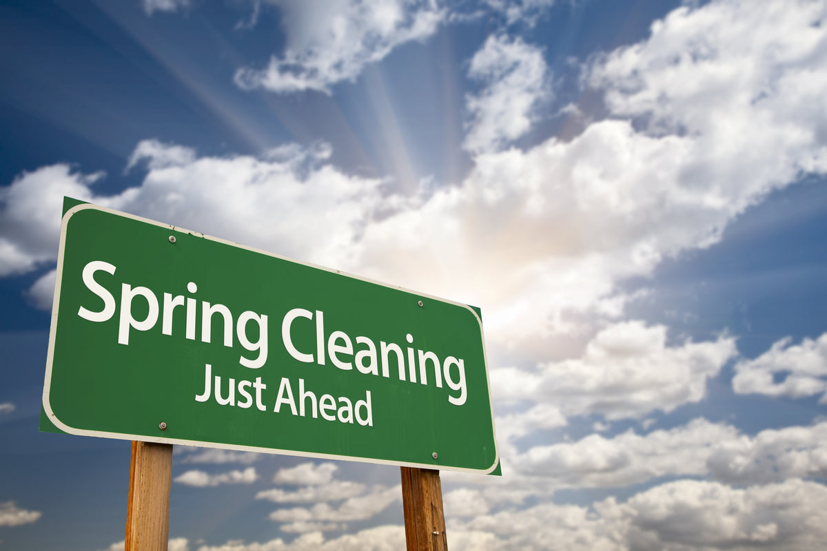 Spring Cleaning Prep: 10 Ways to Pre-Clean for your Spring Clean