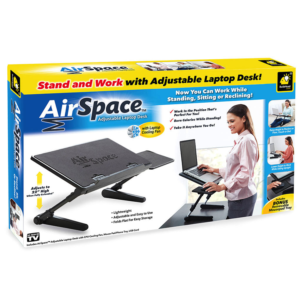 AirSpace Adjustable Laptop Desk 2-Pack