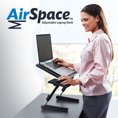 AirSpace Adjustable Laptop Desk