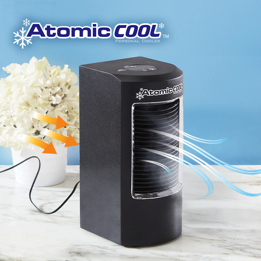 Atomic Cool Portable Personal Cooling System in us lifestyle iamge