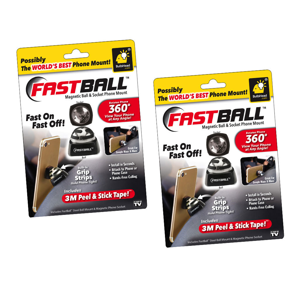 FastBall Magnetic Media Mount 2-Pack Special Offer
