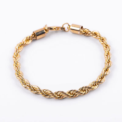 Classic Rope Chain Bracelet
