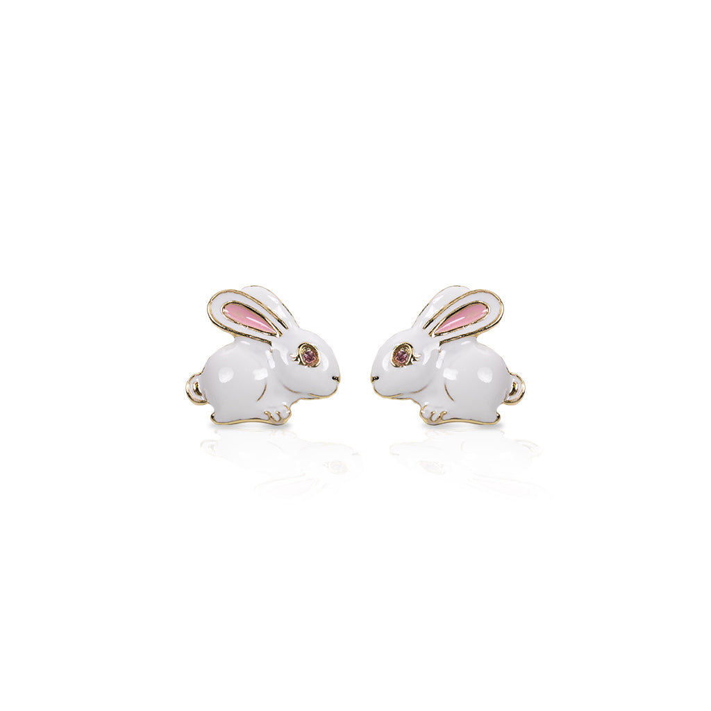 Bunny Post Earrings