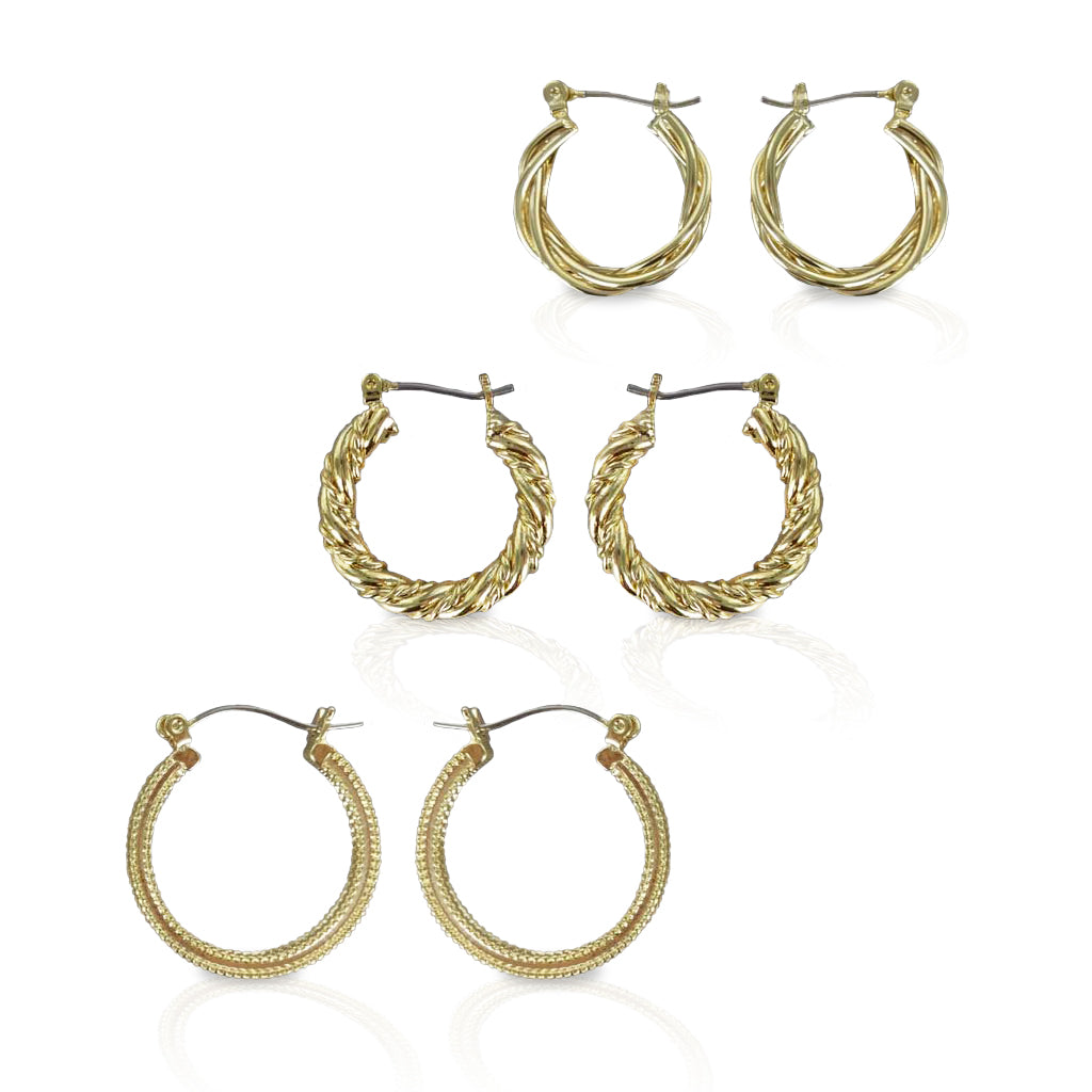 Classic Hoop Earrings Collection