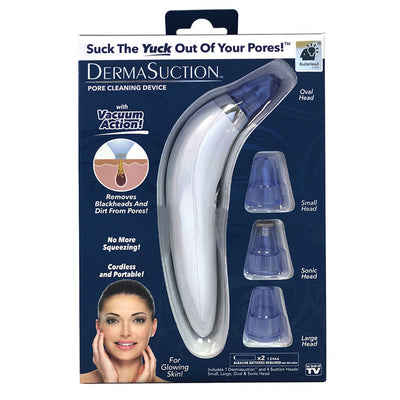 DermaSuction Blackhead Remover 2-Pack