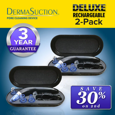 Deluxe DermaSuction Blackhead Remover 2-Pack