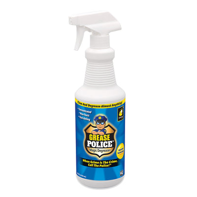A bottle of Grease Police