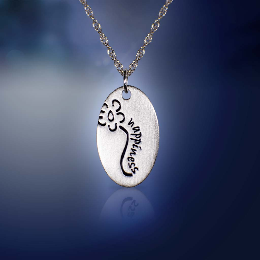 Happiness Sterling Silver Necklace