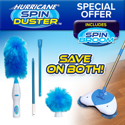 Hurricane Spin Duster and Spin Broom Special Offer