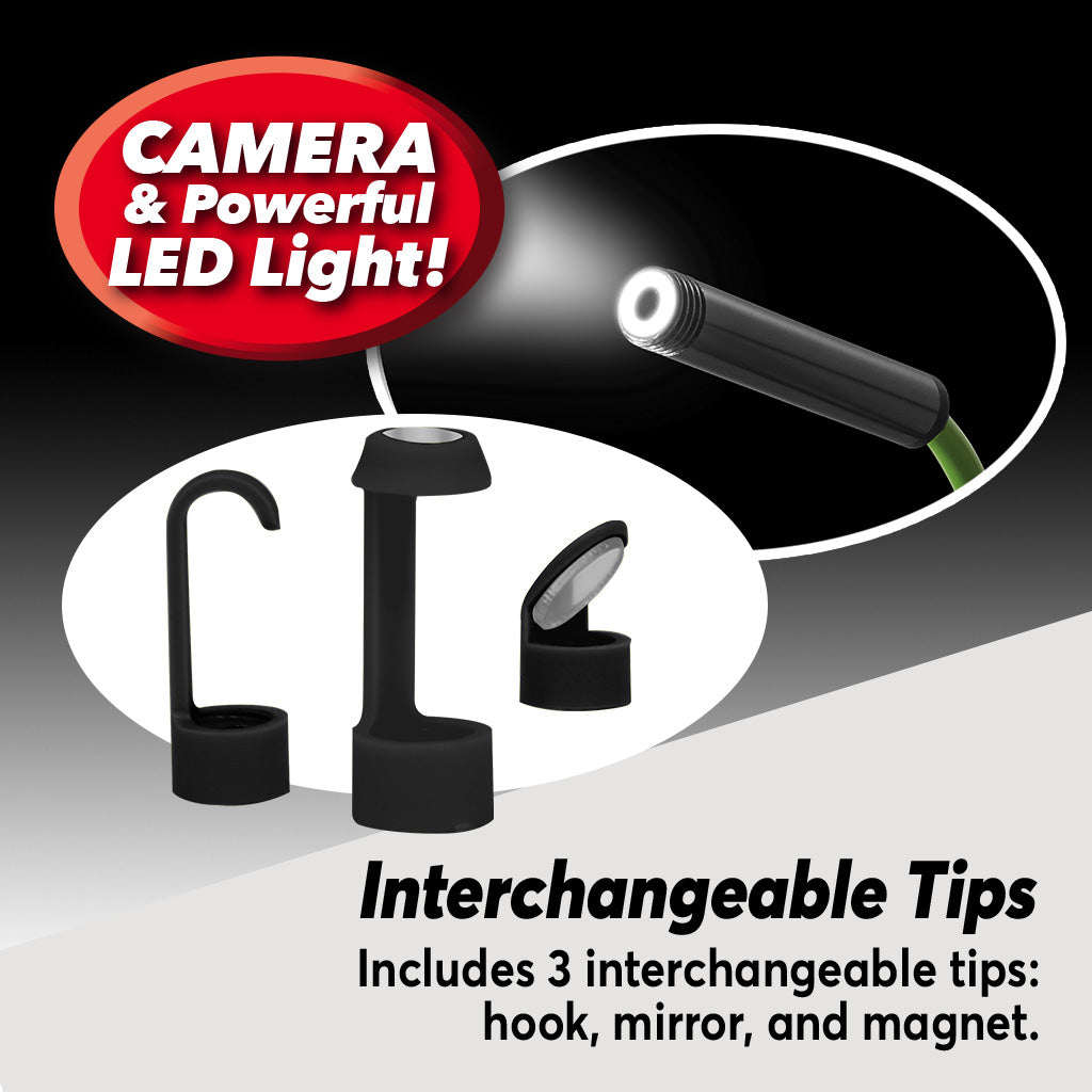Lizard Cam interchangeable tips